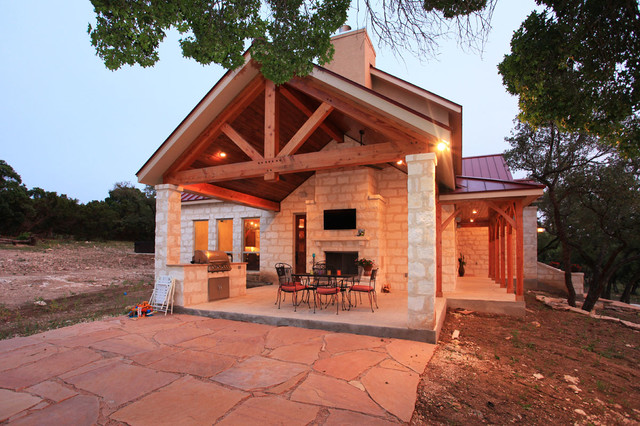 Modern ranch style for Ranch style timber frame homes