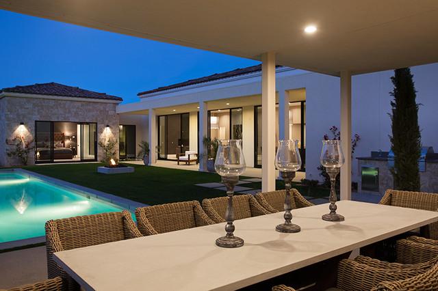 Modern villa monte soreno palm springs ca contemporary for Modern home decor palm springs