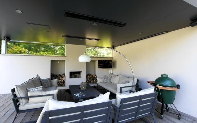 Moderne tuin met luxe veranda modern patio amsterdam von