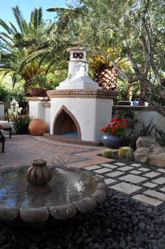 Private Residence II mediterranean patio