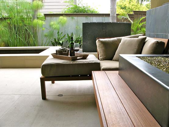 Morera Residence modern-patio