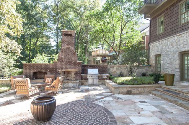 Morningside Lenox Park Renovation Eclectic Patio
