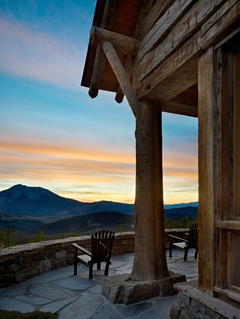 Mountian Retreat rustic-patio