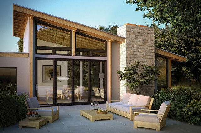 Moving Glass Wall Systems Modern Patio Other Metro