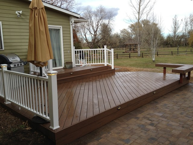 Multi Level Backyard Decks : Decks, Patios & Outdoor Enclosures