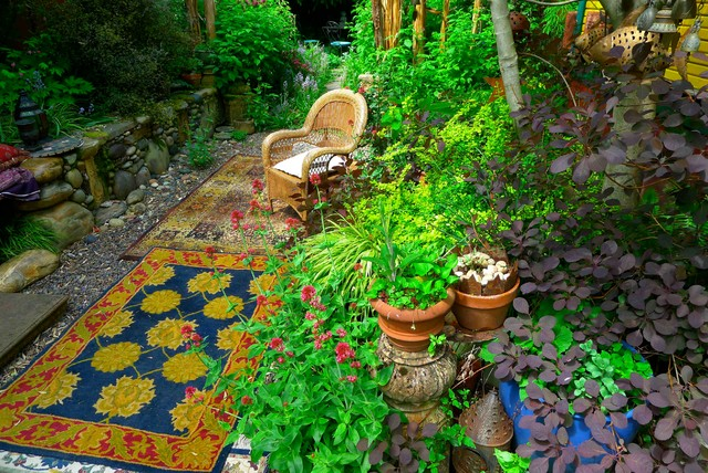 My Garden Eclectic Patio Portland By Gardens By