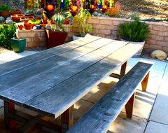 Backyard eclectic-patio