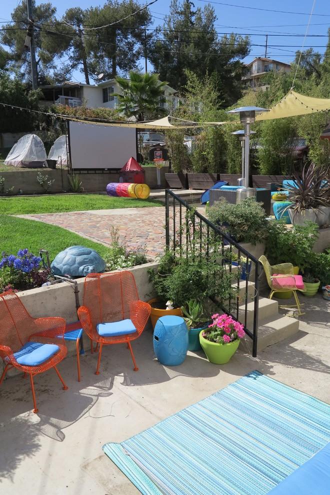 Patio - eclectic patio idea in Los Angeles