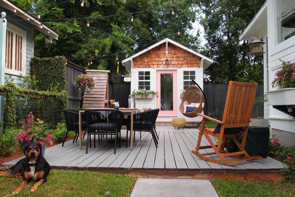 Eclectic patio photo in Birmingham
