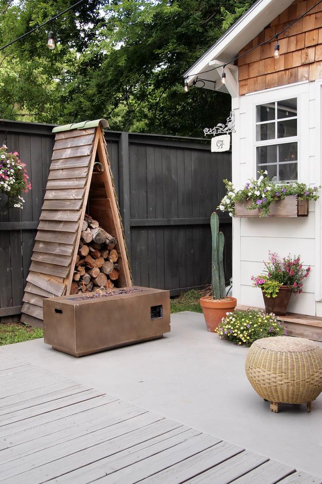 Patio - eclectic patio idea in Birmingham