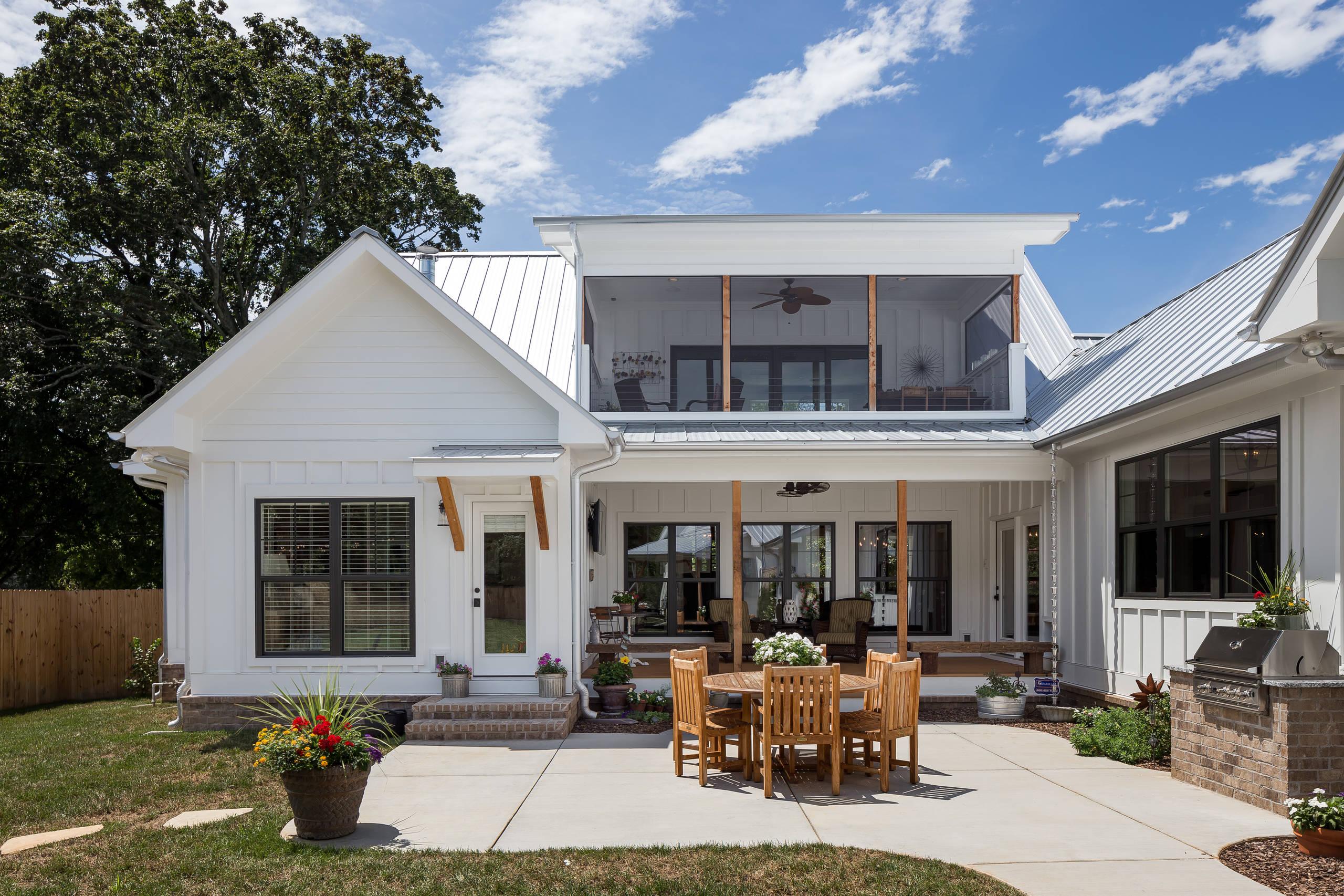 75 Beautiful Farmhouse Outdoor Kitchen Design Houzz Pictures Ideas April 2021 Houzz