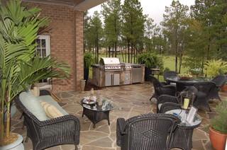 Napier signature homes traditional patio richmond for Richmond signature homes