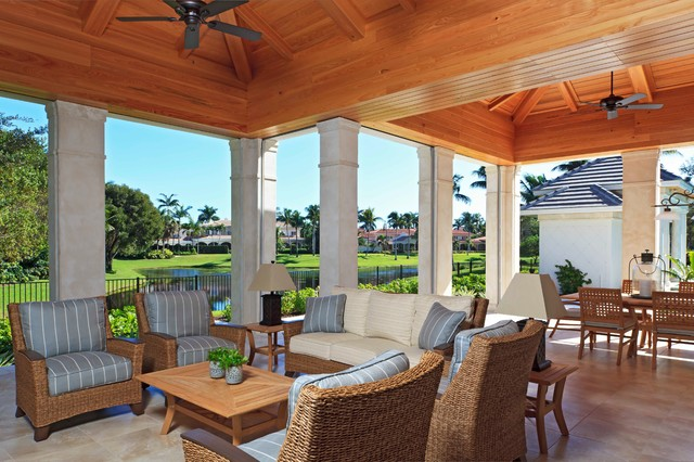 naples fl custom home traditional patio miami by