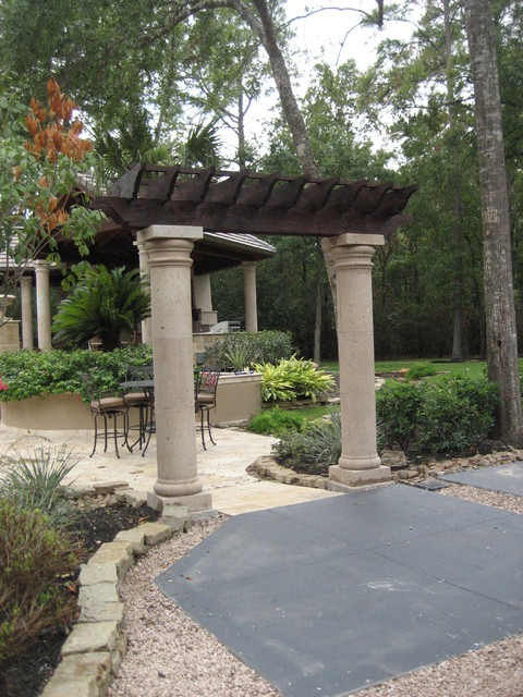 Natural stone cantera columns mediterranean artwork for Cantera pillars
