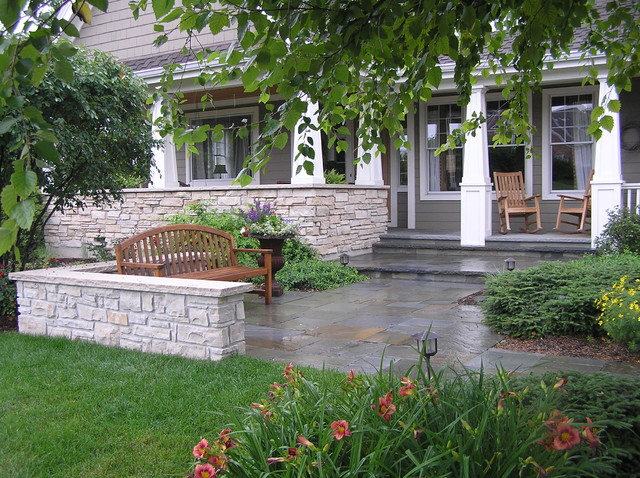Natural Stone Entries traditional-patio