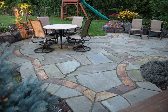 Natural Stone Patios U0026 Walls Traditional Patio