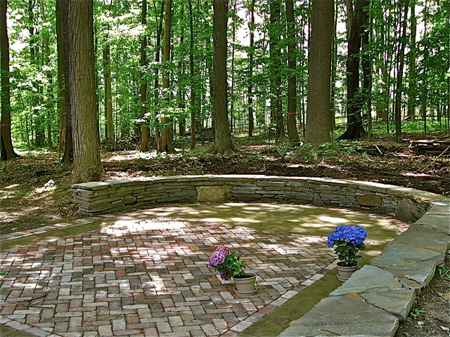 Natural Wooded Es Rustic Patio