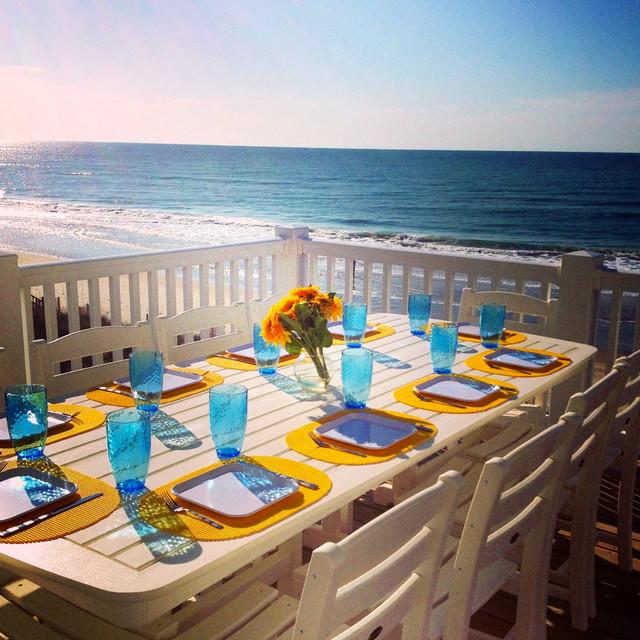 NC Beach House traditional-patio