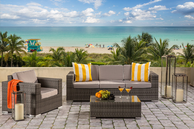 Neilina Outdoor Collection Modern Patio Miami By