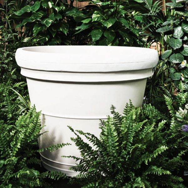 Neoclassic Rolled Rim Planter outdoor-pots-and-planters