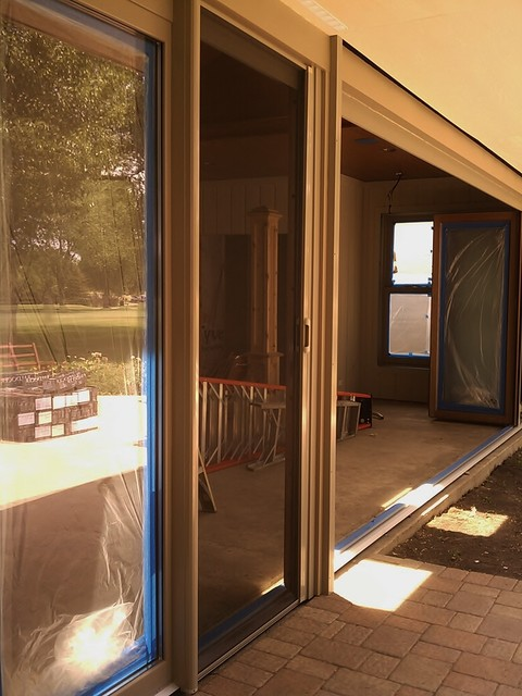 New Addition Mirage Retractable Screens With Nanawall Systems Patio By Retractable Screens Llc