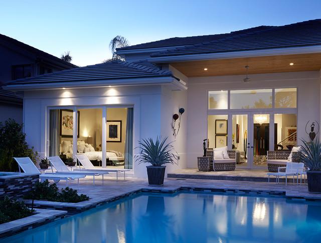 new custom home palm beach gardens contemporary patio other