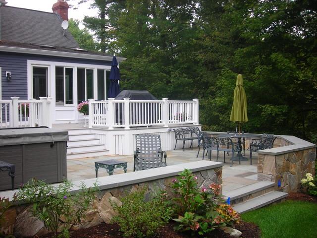 New Deck & Sunroom traditional-patio