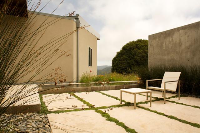New Modern Home Lagunitas contemporary-patio