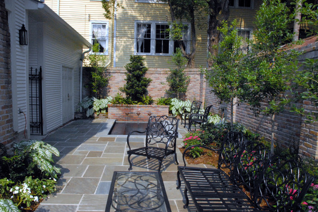 New orleans homes eclectic patio new orleans by for New orleans style house plans courtyard