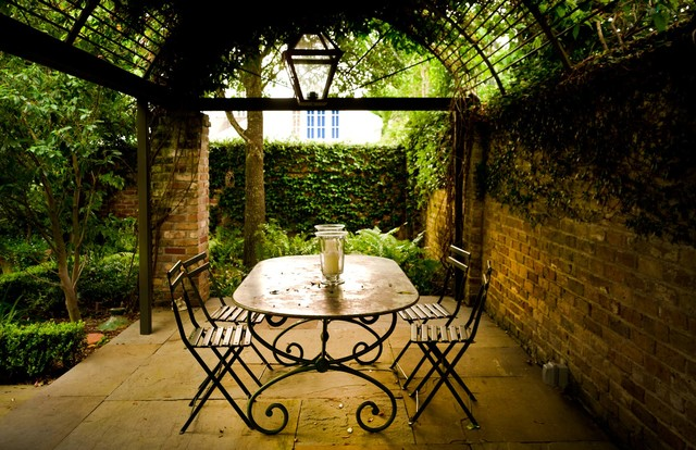 Courtyard Vistas Shabby chic Patio new orleans by