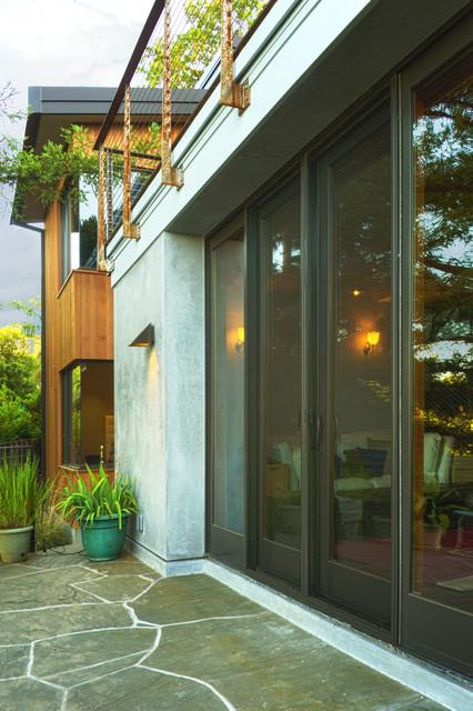 New Peninsula Residence - Modern - Patio