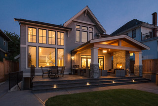 New West Classic  Traditional  Patio  vancouver  by Clay Construction Inc.