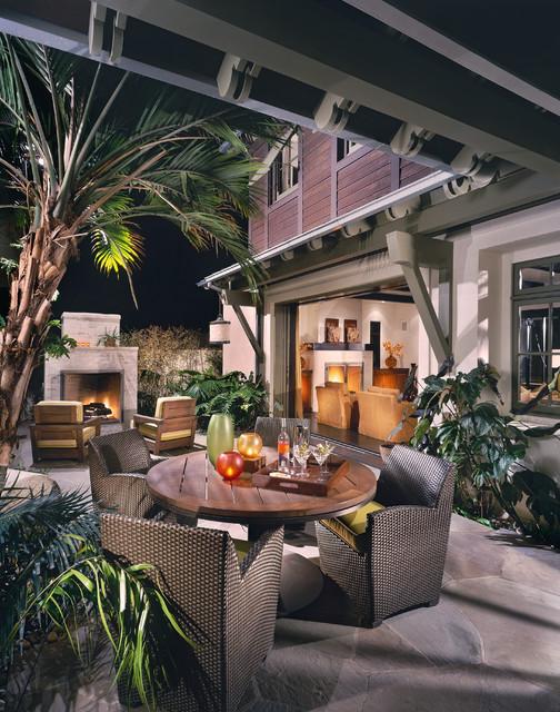 Newport Beach Custom Home 02 tropical-exterior