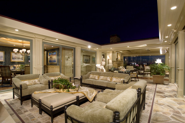 newport beach custom home traditional patio los. Black Bedroom Furniture Sets. Home Design Ideas