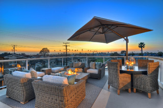 Newport beach rooftop patio traditional patio for Architecture firms orange county