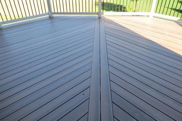Newtechwood Ultrashield Composite Decking Contemporary