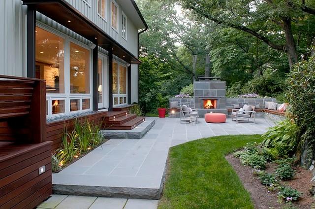 Newton Private Residence contemporary-patio