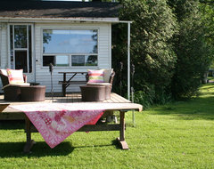 Nice summer getaway eclectic-patio