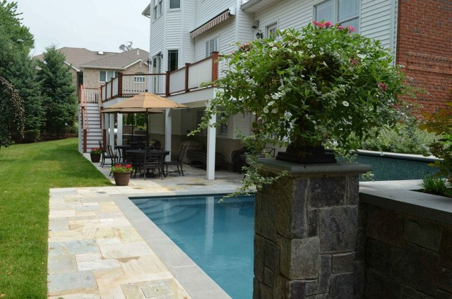 NJ Swimming Pool and Outdoor Living Patio Contemporary