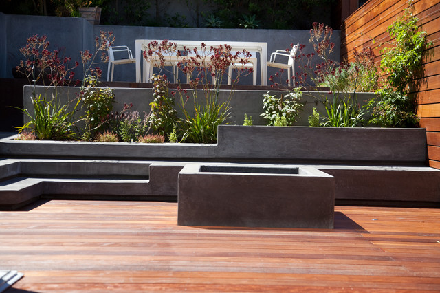 Noe Heights, San Francisco modern-patio