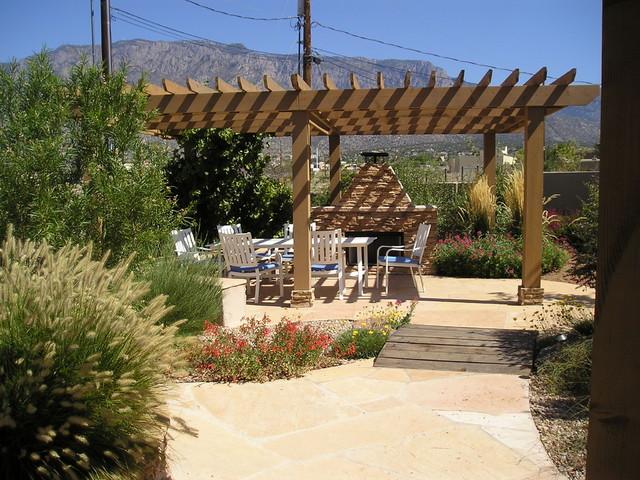 North Albuquerque Acres contemporary-patio