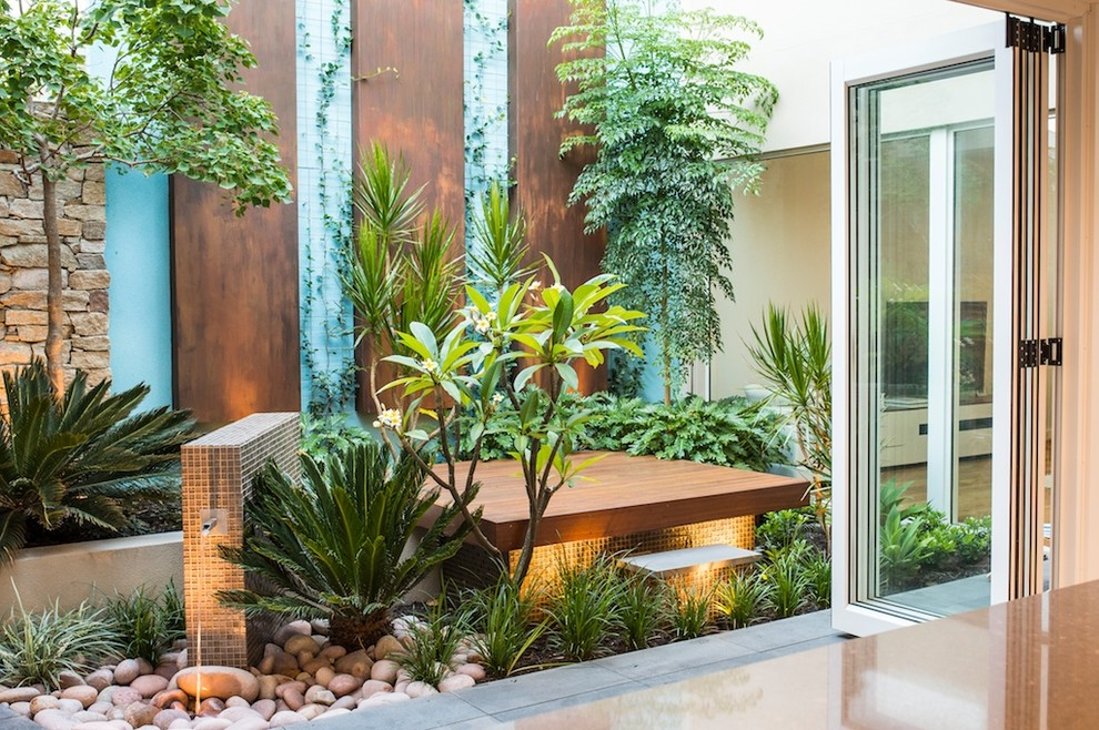 North Coogee Courtyard - Contemporary - Patio - Perth - by ...