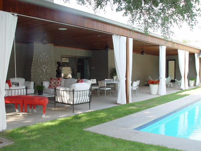 North Dallas contemporary patio