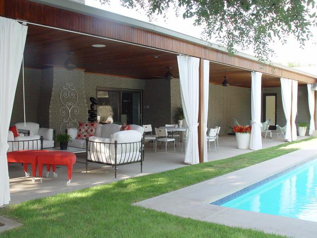 North Dallas contemporary-patio