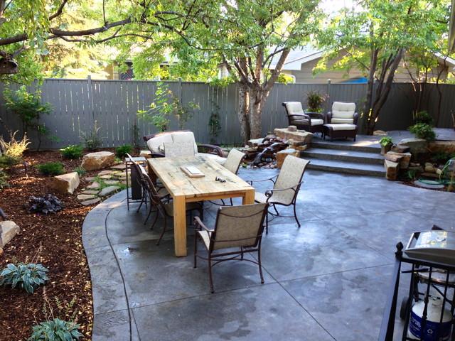 North Glenmore House Flip craftsman-patio