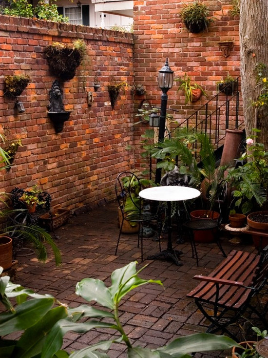 New Orleans Style Courtyard Home Design Ideas Pictures
