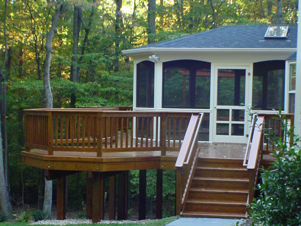 Northern Deckworks Porches,decks and patios traditional-patio