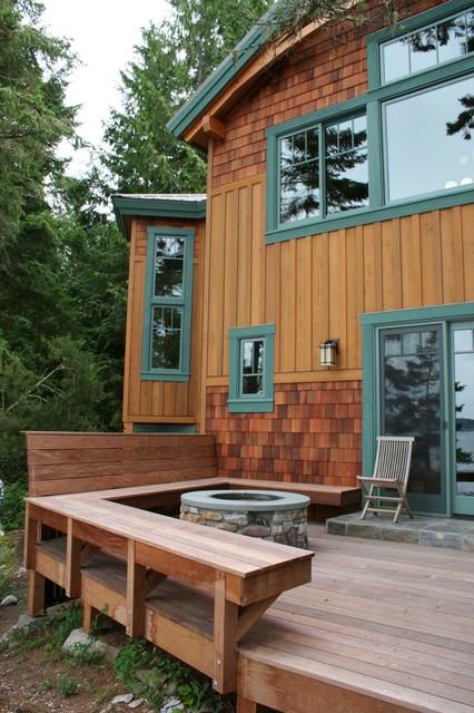 Northside Beach House craftsman-patio
