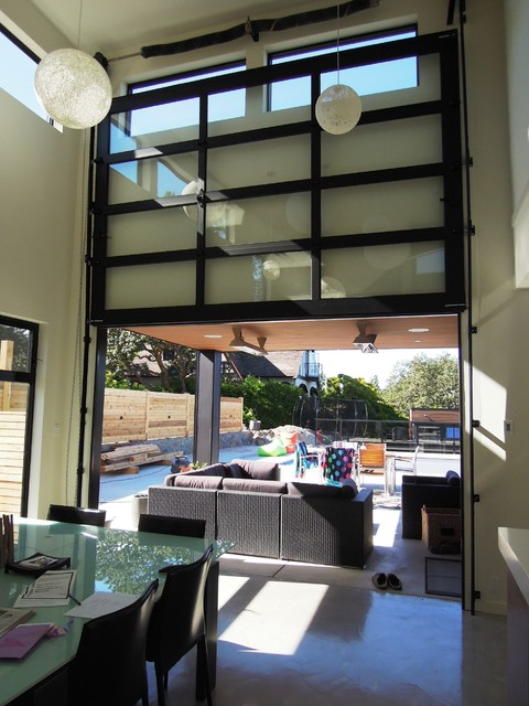 Northwest Door Modern Classic Garage Door Modern Patio