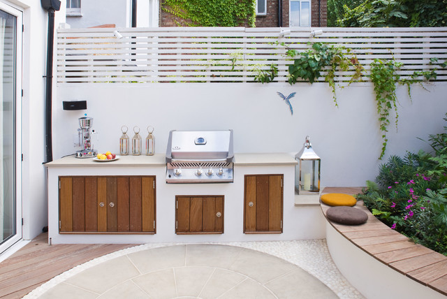 10 Small And Stylish Outdoor Kitchen Designs Houzz Au